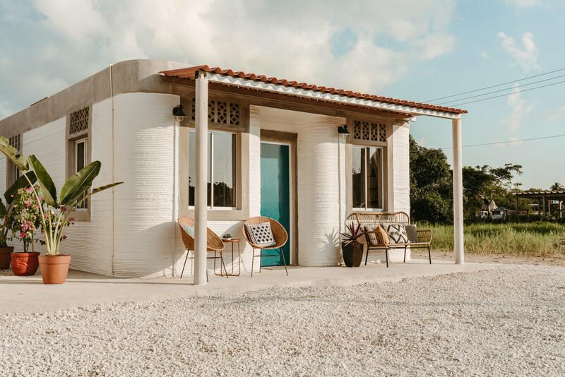 멕시코 남동부 시골마을에 50채 규모의 세계 첫 3D프린팅 주택단지가 들어선다. 뉴스토리 제공
