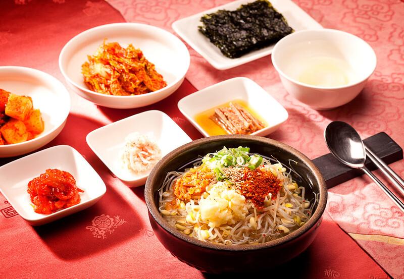 전주 콩나물국밥.