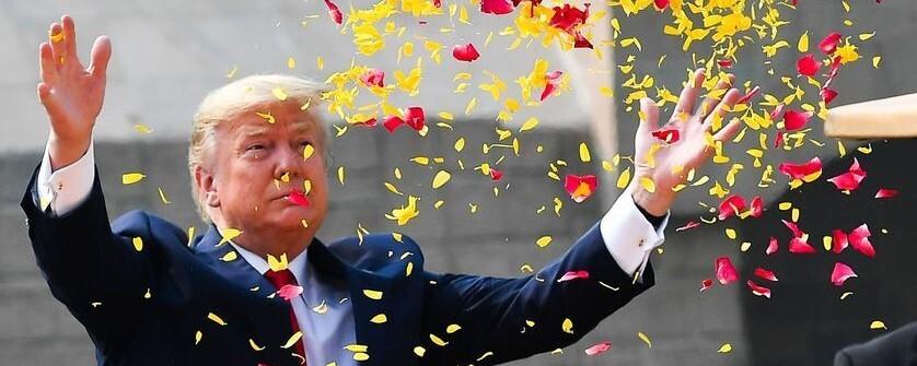 '또 하나의 이벤트' 트럼프 인도 방문