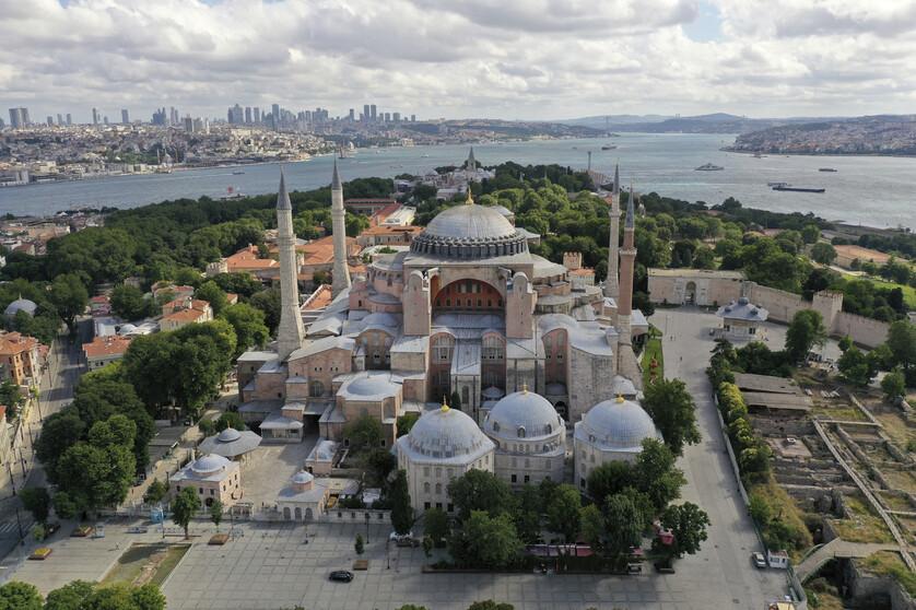 터키 '성소피아' 박물관, 85년만에 이슬람 사원 '모스크' 전환