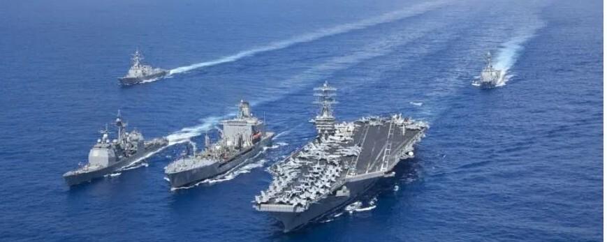 홍콩, 남중국해, 대만…미-중 군사적 긴장 확대