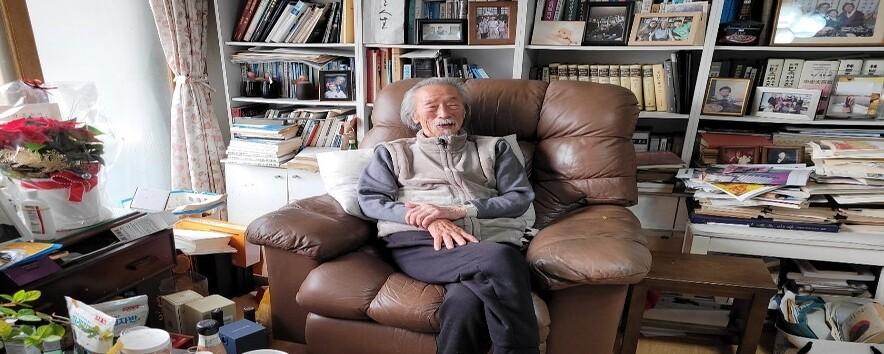 100살 신학자 유동식이 본 싸이와 방탄소년단