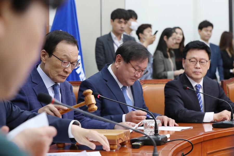 """'금태섭 징계' 논란에 이해찬 """"비민주적으로 당 운영한 적 없다"""""""