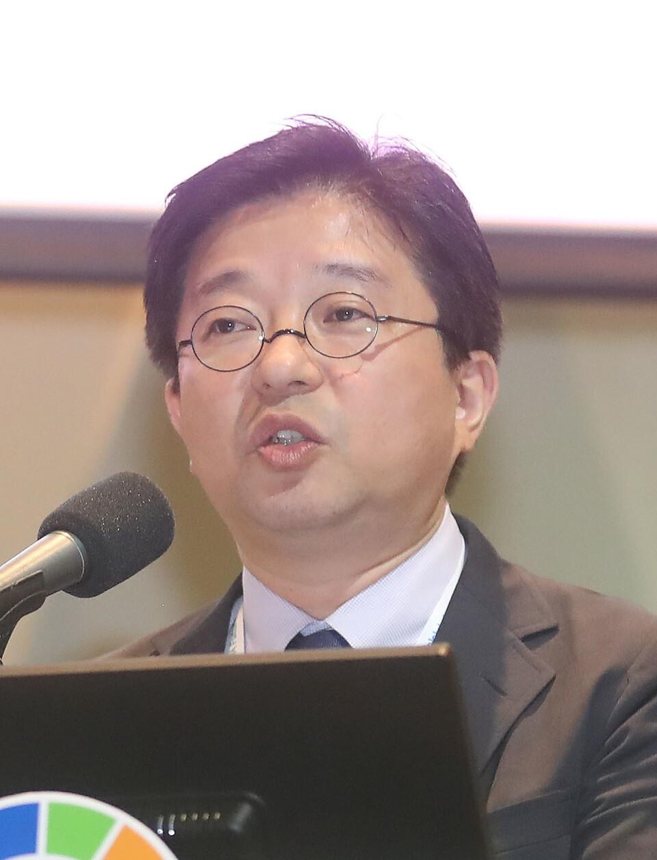 김명중 닛세이기초연구소 준주임연구원. 신소영 기자 viator@hani.co.kr