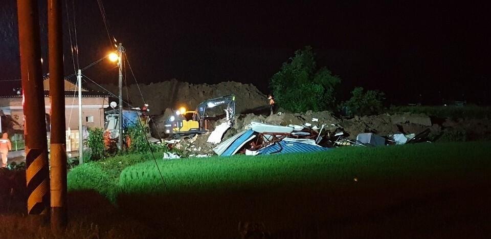 전남 곡성서 산사태로 주민 3명 사망·3명 매몰
