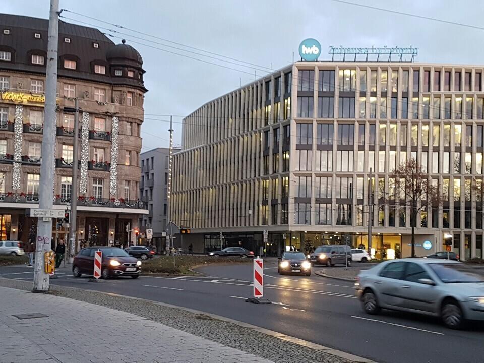 라이프치히는 유럽 전체를 통틀어 가장 혁신적인 도시에 수여하는 '유럽 어버니즘 어워드'의 '2019 올해의 도시'로 선정됐다. 사진은 시내 중심지 모습.