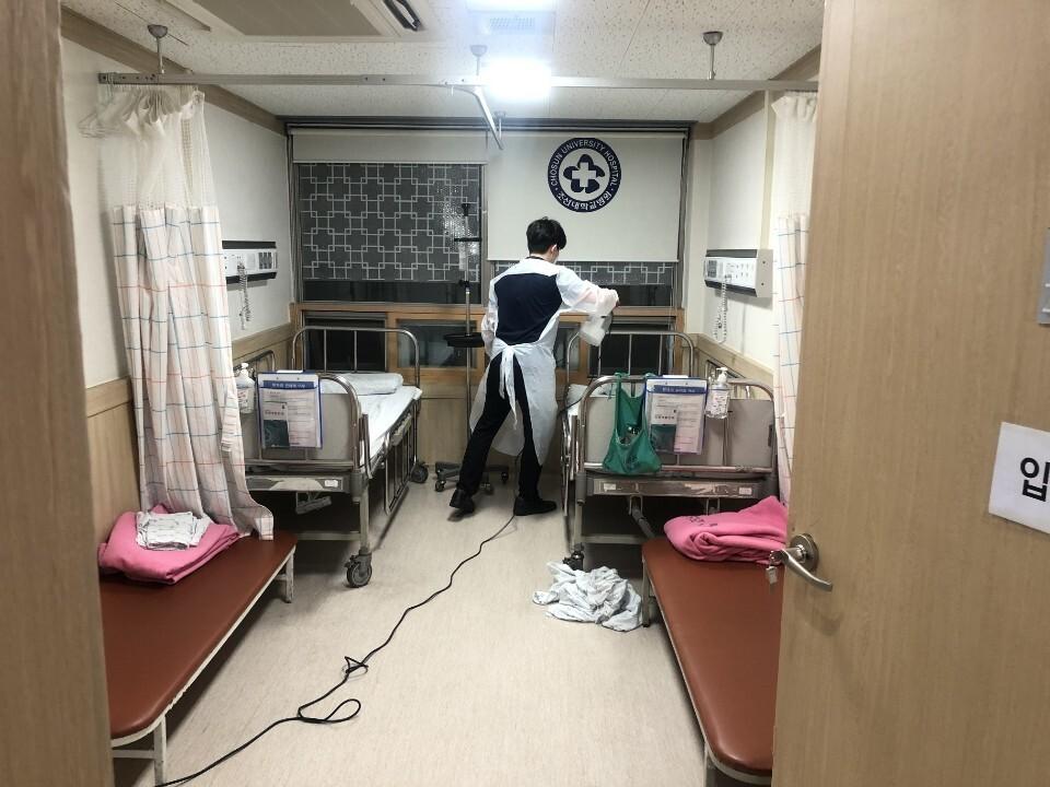 조선대병원, 수술 대기 환자 코로나 양성 판정으로 병동 긴급폐쇄