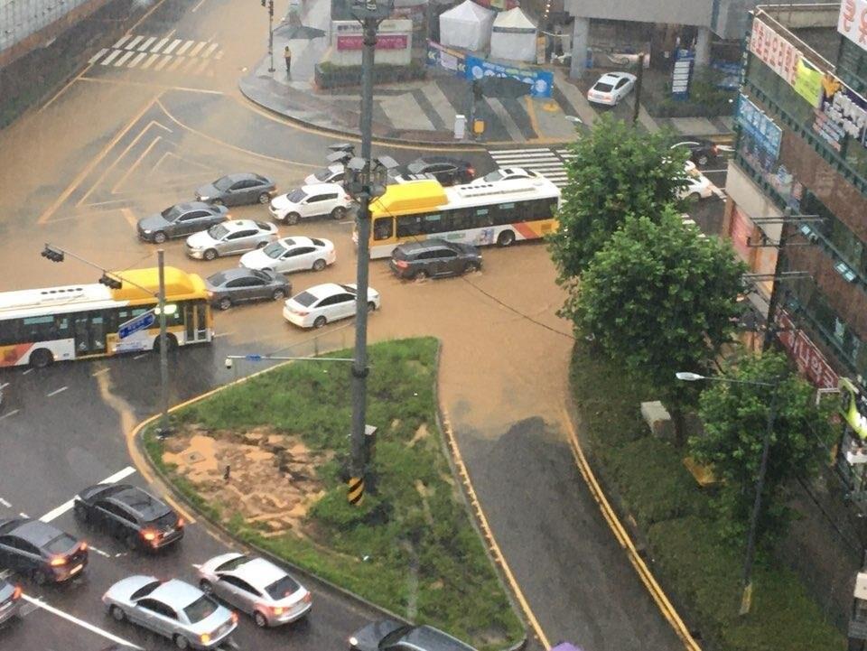 폭우에 경전선 열차 운행 중단 등 광주·전남 곳곳 피해
