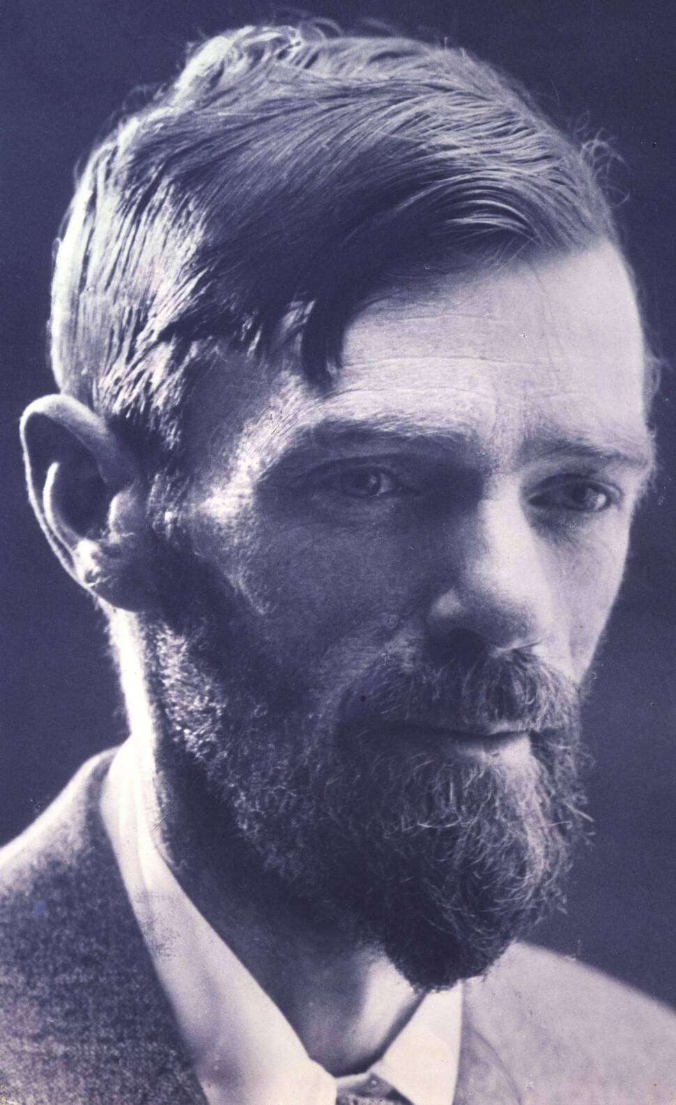 20세기 영문학의 거인 데이비드 허버트 로런스. ©National Portrait Gallery, London, 창비 제공.
