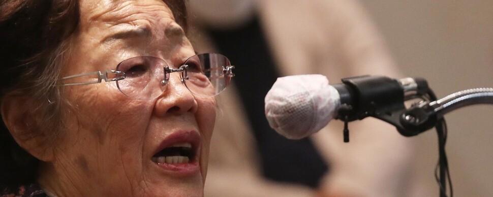 70년 지난들 고통 사라질까…'인권운동가 이용수'의 슬픔