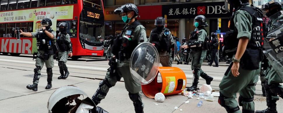 중, 더 세진 '홍콩 보안법' 오늘 표결