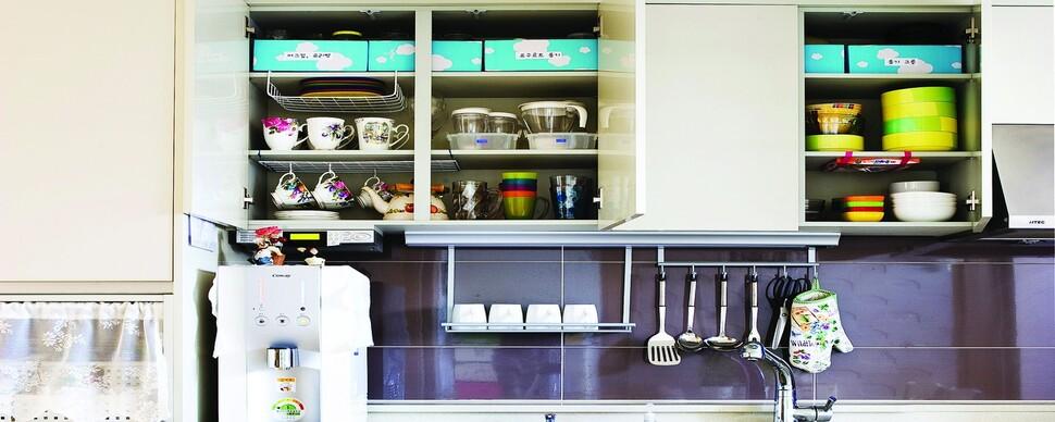 주방 수납을 바꾸세요, 설거지로 지친 삶이 바뀝니다