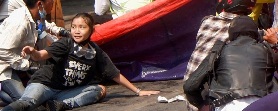 '다 잘 될거야'…미얀마 19살 여성의 마지막 메시지