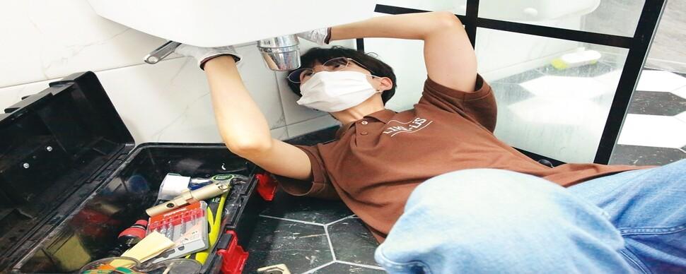 여성 집수리기사, 집수리 서비스의 품격을 높이다