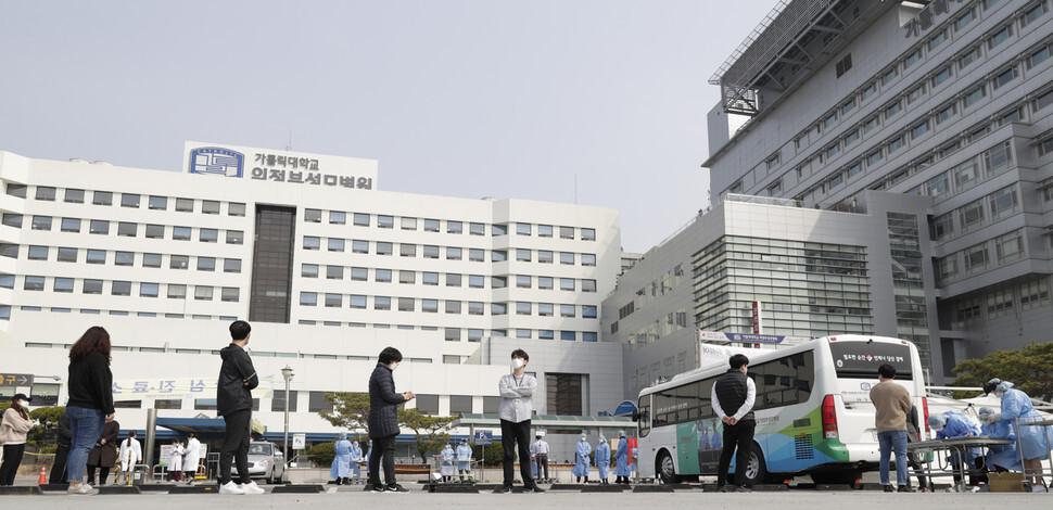의정부성모병원서 어머니 임종 지킨 다섯자매 확진 판정