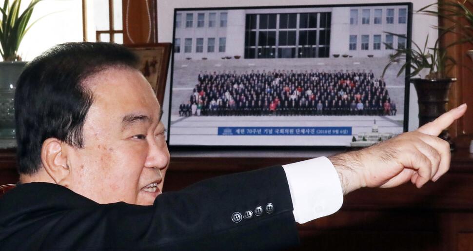 민주당, 문희상 의장에 '세습공천 논란' 우려 전달