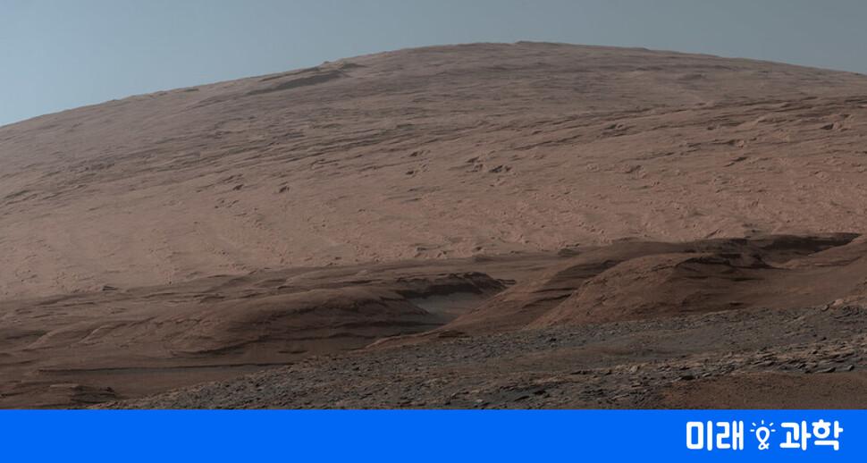 큐리오시티가 화성에서 보내온 사진 엽서