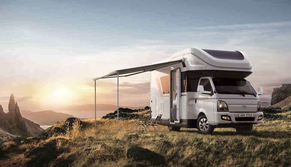현대자동차 캠핑카 '포레스트'. 현대차 제공