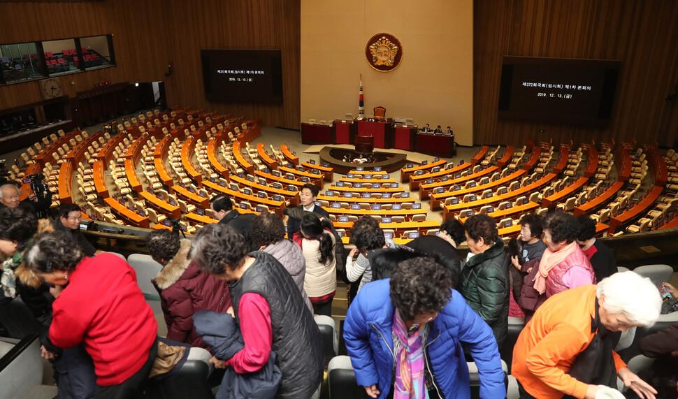 선거법 상정 합의해놓고…본회의도 열지 못한 국회