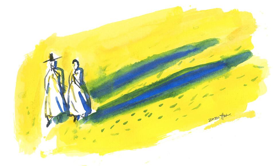 다산의 빈 자리 18년간 메웠던 홍혜완