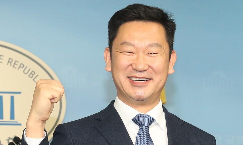 '노무현 사위' 곽상언, 민주당 입당…충북 출마 선언
