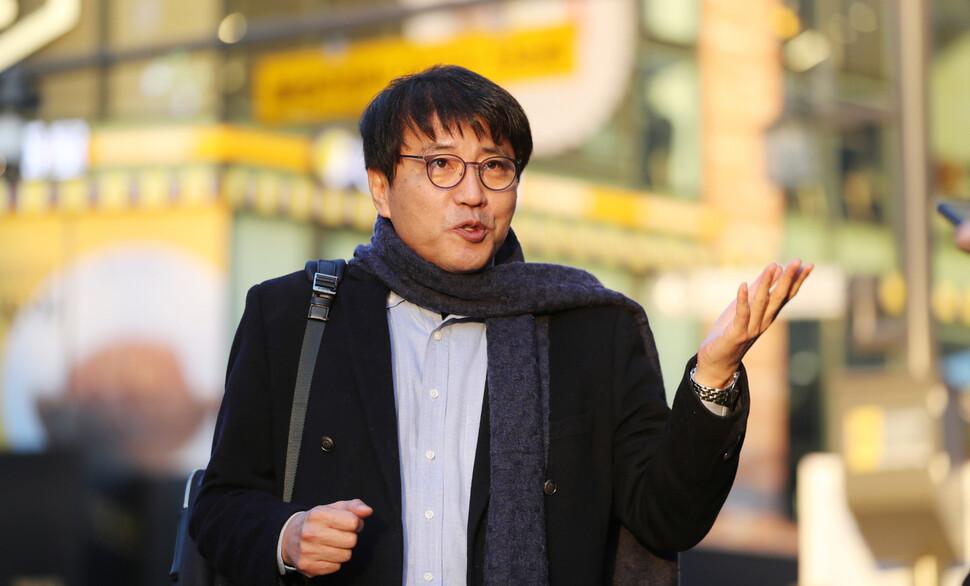 """탈북작가 김주성씨 """"난 진보도 보수도 아닌 삼겹살 편"""""""