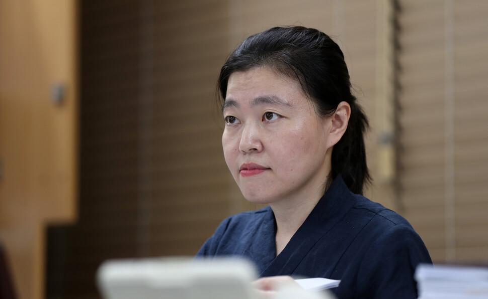 '박원순 의혹'에 임은정 부장검사 '말 아끼는 점 양해 부탁'
