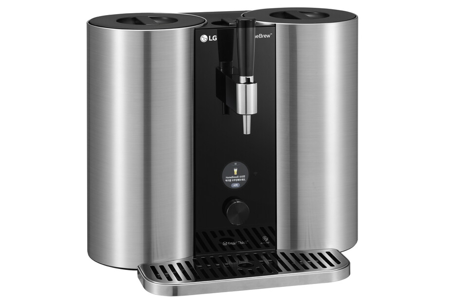 캡슐형 수제 맥주 제조기 LG 홈브루(LG HomeBrew). LG전자 제공