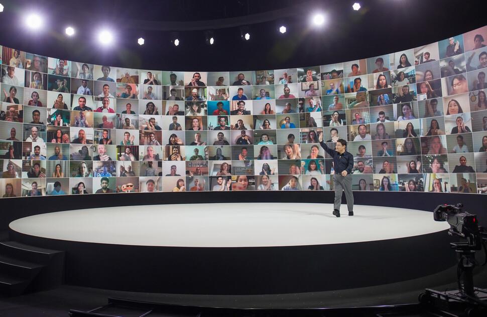 온라인으로만 열린 '갤럭시 언팩', 전 세계 5600만명 몰렸다