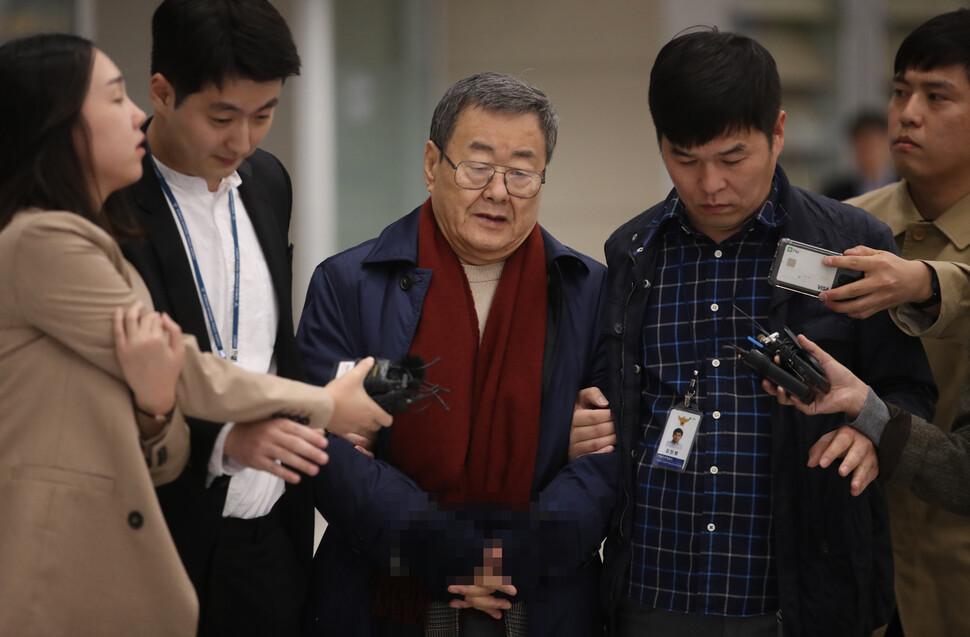 경찰, '성폭행 혐의' 김준기 전 DB회장 구속영장 신청