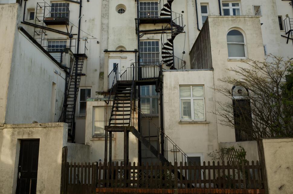 브라이턴의 주택가 풍경. CC BY-SA 2.0 garghe