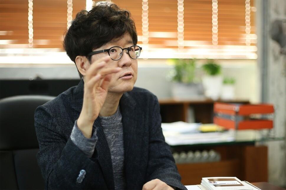 주철환 아주대 교수. <한겨레> 자료 사진