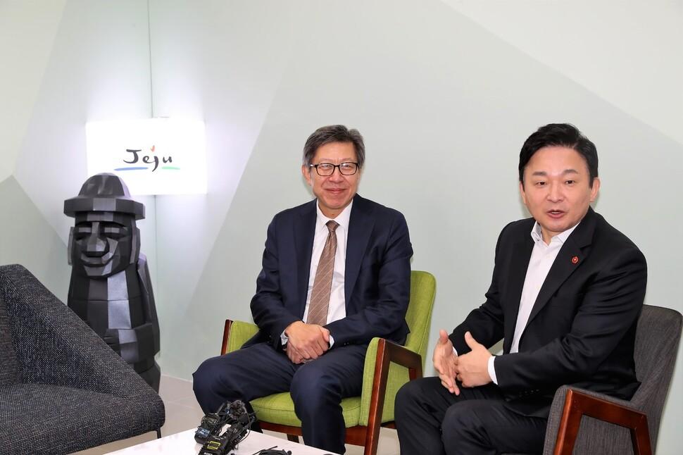 """원희룡 """"보수통합에 힘 보태겠다""""…신당 합류 선언"""
