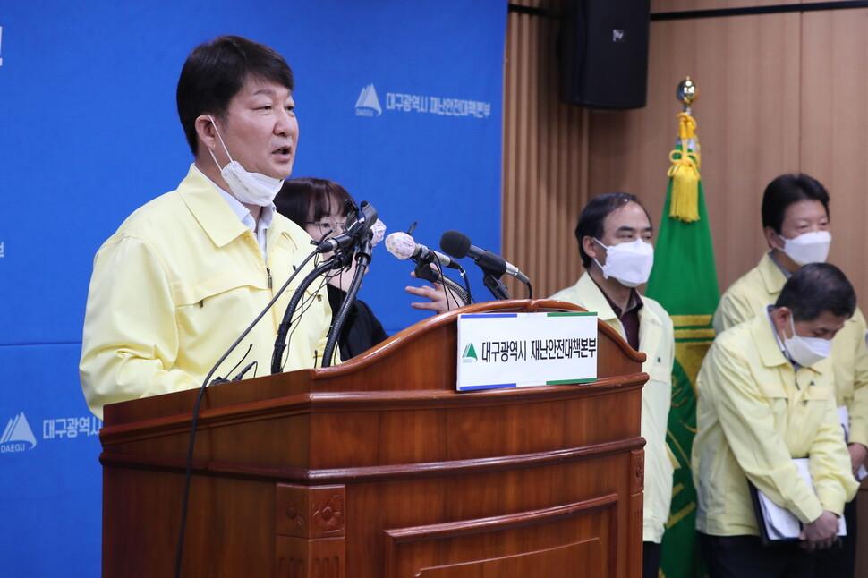 코로나19 대구서 첫 사망자 발생…경북대병원 치료 중 50대