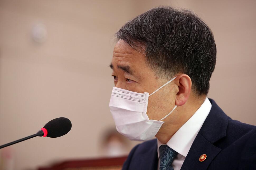 """박능후 """"확산 가장 큰 원인은 중국서 들어온 한국인"""""""