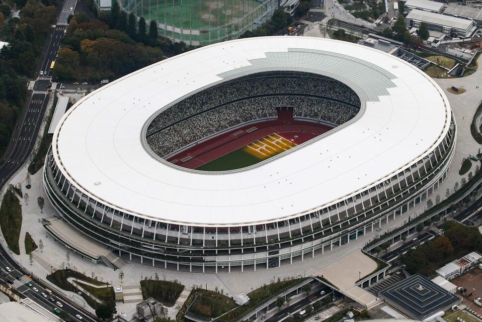 2020 도쿄올림픽 주경기장 완성…1조7천억원 들여 36개월 공사