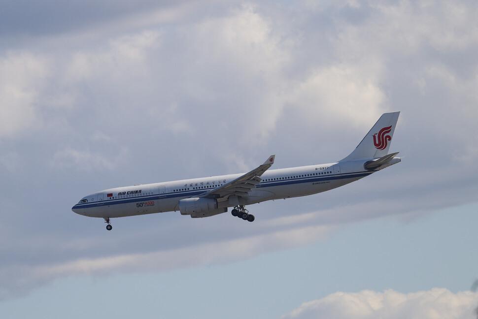 중국 에어 차이나의 항공기. 로이터 연합뉴스
