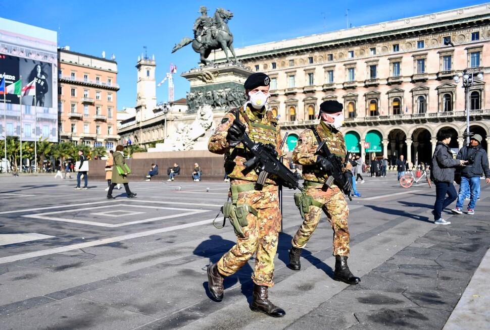 이탈리아서 코로나19 사망자 7명으로 증가…확진자 200명 넘겨
