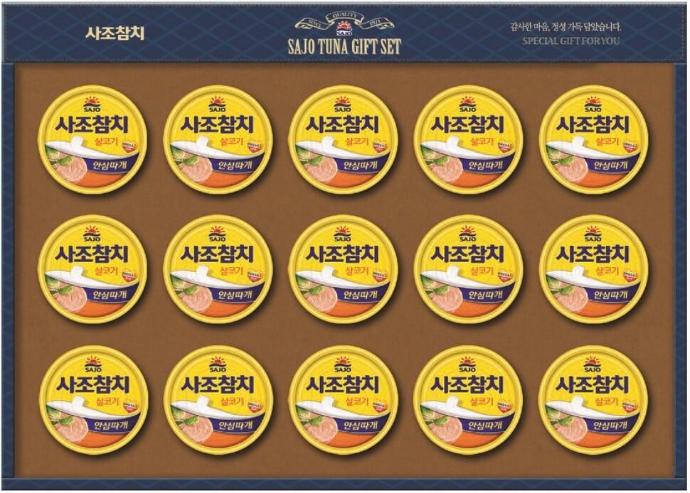 사조참치 '명절 선물세트 임직원에 강매' 과징금 14억