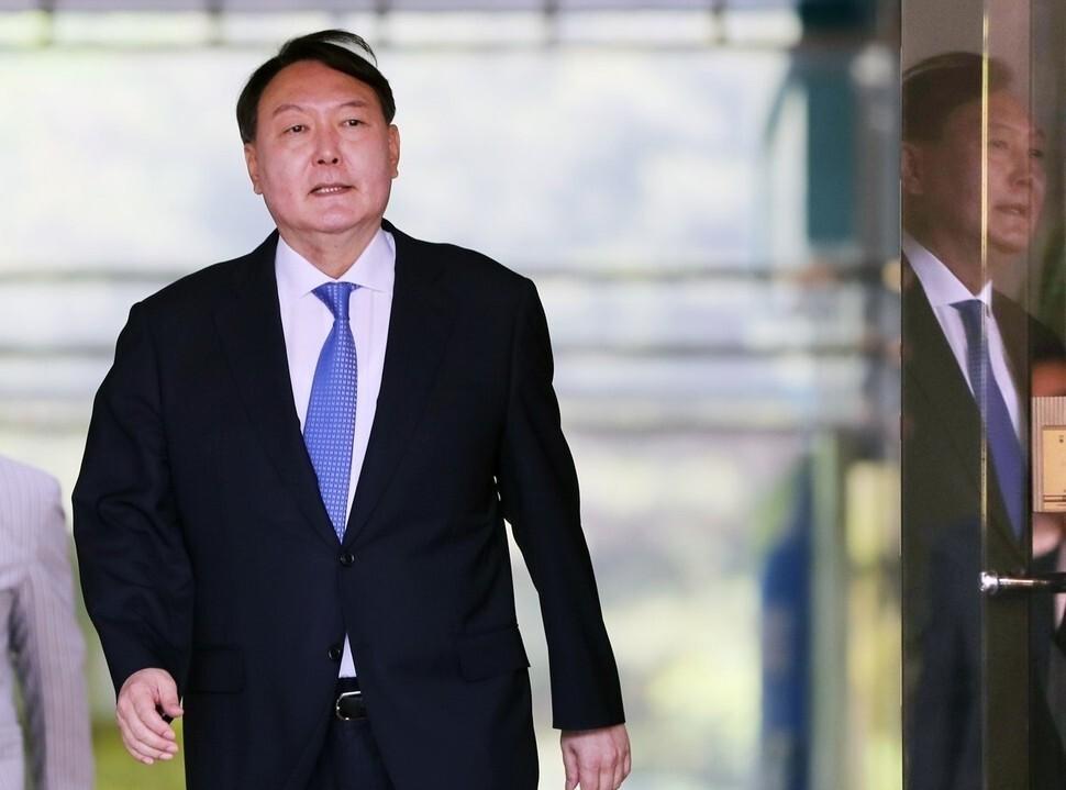 의정부↔서울중앙…검찰, 윤석열 장모 사건 '핑퐁게임'