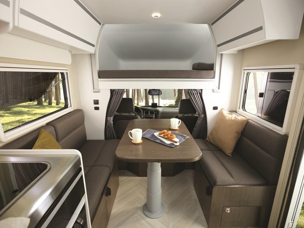 현대자동차 캠핑카 '포레스트' 내부. 현대차 제공