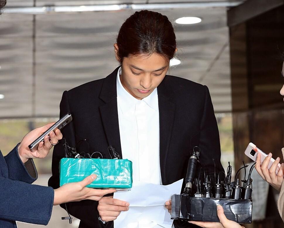 법원, 정준영 '성매매' 혐의 벌금 100만원 약식명령