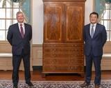 訪米中のチェ外交次官、ビーガン副長官との会談で「同盟対話」の新設に合意