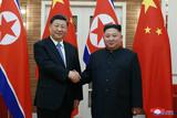 朝中首脳、「祝電外交」で「朝中、親善」と「中朝関係の守護」を強調