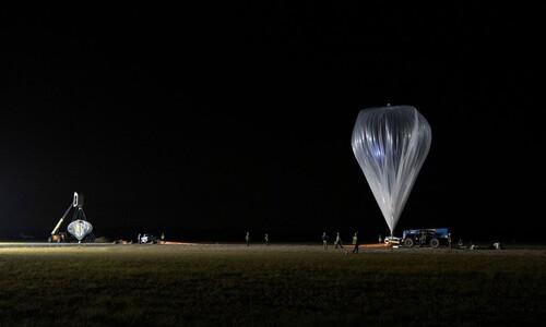 올라가는데만 2시간…'성층권 풍선여행' 시험비행 성공