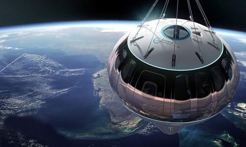 세계 첫 '성층권 풍선여행' 예매 시작…요금은 1억4천만원