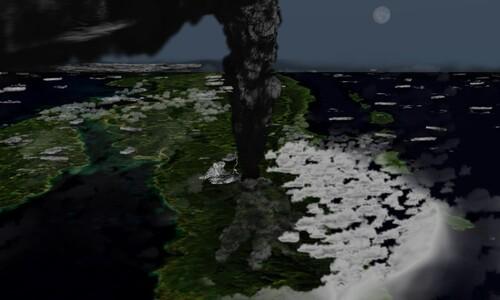 인류는 어떻게 토바 화산 대폭발의 화를 면했나