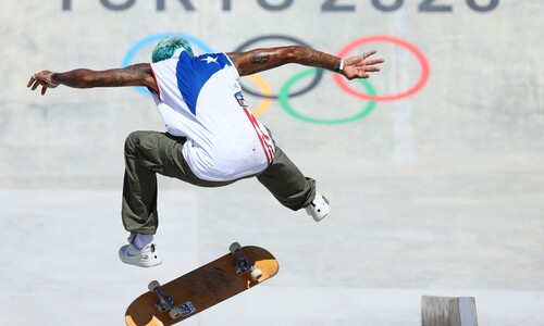 힙합 바지에 문신…올림픽 '정식 종목'입니다