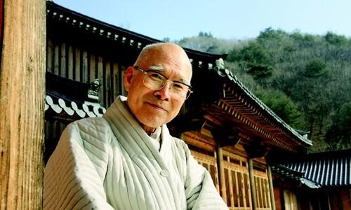 후배들과 맞짱토론 마다않던 선승 맏형 고우 스님