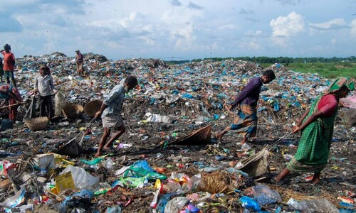 2019년 생산된 플라스틱 사회적 비용, 인도 GDP보다 많아